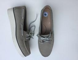 NWT Sperry Top Sider Azur Nubuck Boat Water Shoes  Gray Size