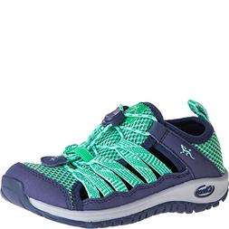 Chaco Girls' Outcross 2 Water Shoe, Mint, 5 M US Big Kid