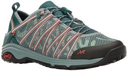 Chaco Women's Outcross EVO 1.5 Hiking Shoe, Teal, 8 M US