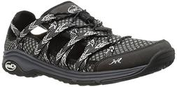 Chaco Women's Outcross Evo Hiking Shoe, Black, 9 M US