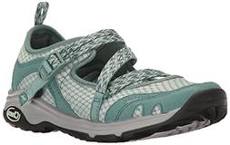 Chaco Women's Outcross EVO MJ Hiking Shoe, Teal, 8 M US