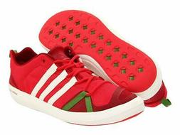 adidas outdoor Boat CC Lace Water Shoe - Radiant Red/Spray/S