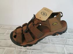 ATIKA Outdoor Sandal Mens Sz 7 Dark Brown Trail Water Shoe S