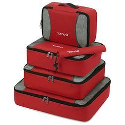 Gonex Packing Cubes Travel Luggage Packing Organizer,Shoe Ba