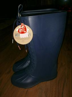 Native Paddington Water shoes Slip on Tall Regatta Blue BOOT