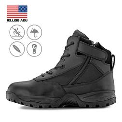 Maelstrom® PATROL 6'' Black Tactical Duty Work Boots with Z