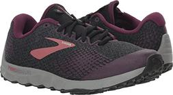 Brooks Women's PureGrit 7 Black/Purple/Grey 7.5 B US