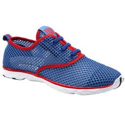 ALEADER Men's Quick Drying Aqua Water Shoes Red 9.5 D US