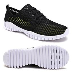 FCKEE Quick Drying Mesh Water Aqua Shoes for Men and Women,M