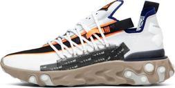 Nike React WR ISPA Men's Lifestyle Shoes AR8555 100 White Bl