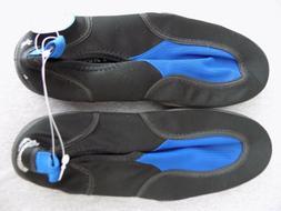 Hawaiian Magic Surf Reef Walker Shoes Sz 8 Slip On Black Blu