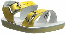 Salt Water 2001-SHINYYELLOW: by Hoy Shoe Sea Wees Shiny Yell