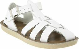 Salt Water 4403-WHITE: by Hoy Shoe Kids White Sandals