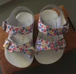 Salt Water Sandal Floral Hoy Shoe Sea Wees Girls Toddler Siz