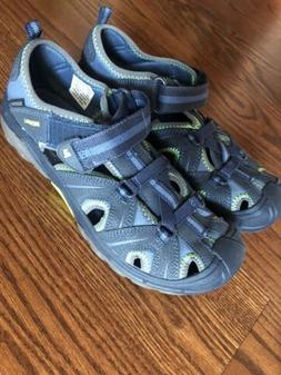 Merrell Sandals Hydro Hiker Water Shoes Size 6 Blue Grey Gre