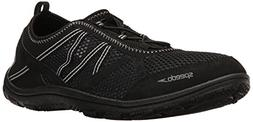 Speedo Men's Seaside LACE 5.0 Athletic Water Shoe, Black, 11