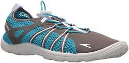 Speedo Women's Seaside Lace Water Shoes, Dark Gull Grey/Whit