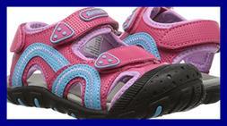 Kamik Girls' Seaturtle, Bright Rose, 2 M US Little Kid