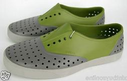 Native Shoes  Miller Juice Green / Grey  Washable Water Resi