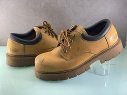 sketchers men s low cut work boots
