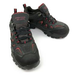 Sketchers Mens 9.5 Work Safety Steel Toe Shoes Water Proof B
