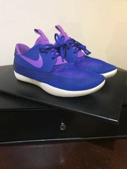 Nike Solarsoft Moccasin Water Sneakers Blue Purple Shoe 5553