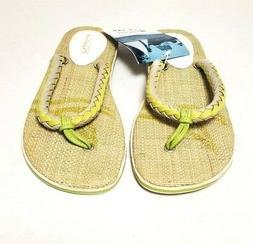 """Sperry Top Sider Flip Flops """"Get Wet"""" Sandals Outdoor Beach"""