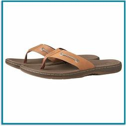 Sperry Top Sider Flip Flops Mens Leather Sandals Casual Outd