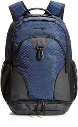 AmazonBasics Sports Backpack, Navy Blue