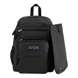 JanSport 34L Digital Student Backpack Black/Forge Grey 1 One