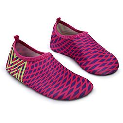 L-RUN Kids Swim Shoes Boys Girls Water Aerobic Exercise Shoe