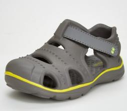 Surprize by Stride Rite Tex Toddler Boy Size 8  Land  Water Shoes Black Sneakers