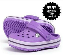 Crocs Toddler Girls' Sandals Summer Water Shoes Lightweight