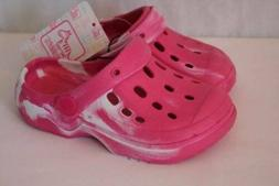 toddler girls water shoes 7 8 pink