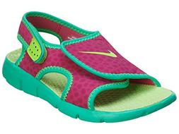 Toddler Nike 'Sunray Adjust 4' Sandal, Size 12 M - Pink