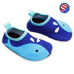 Bigib Toddler Kids Swim Water Shoes Quick Dry Non-Slip Water