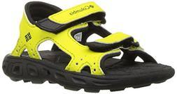 Columbia Toddler Techsun Vent Sandal , Zour/Black, 4 M US To
