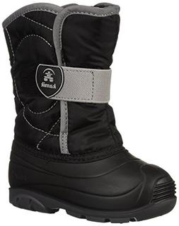 Kamik Unisex Baby SNOWBUG3 Snow Boot, Black, 10 Medium US To