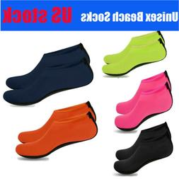 Unisex Barefoot Water Skin Shoes Aqua Socks Beach Swim Surf