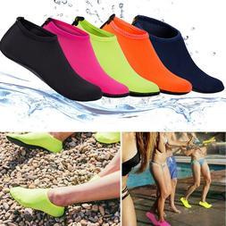 Unisex Barefoot Water Skin Shoes Aqua Socks Beach Swim Surf
