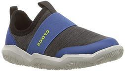 Crocs unisex Swiftwater EasyOn Hthr Shoe K , Black, 6 M US T