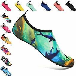 VIFUUR Unisex Water Sports Shoes Barefoot Quick-Dry Yoga Soc