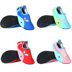 US Toddler Kids Baby Soft Water Shoes Summer Beach Surfing S