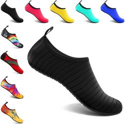 VIFUUR Water Sports Shoes Barefoot Quick-Dry Yoga Socks Slip