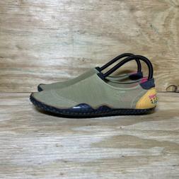 Vintage Nike Aqua Gear Water Shoes, Men's Size 8, Green