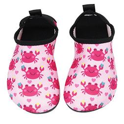 Adorllya Water Shoes Aqua Socks Water Socks Swim Shoes for K