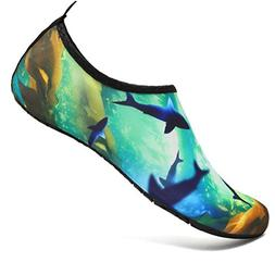 VIFUUR Kids Girls Boys Water Shoes Lightweight Barefoot Quic