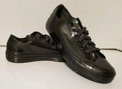 Converse Water Resistant Chuck Taylors Metallic Black Rain S
