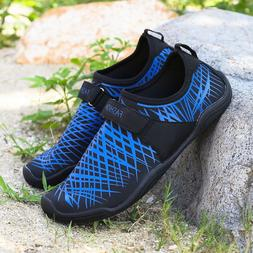 Water Shoes Barefoot Quick-Dry Swim Shoes for Men Boating Wa