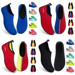 Water Shoes For Women Men Unisex Barefoot Quick-Dry Aqua Soc